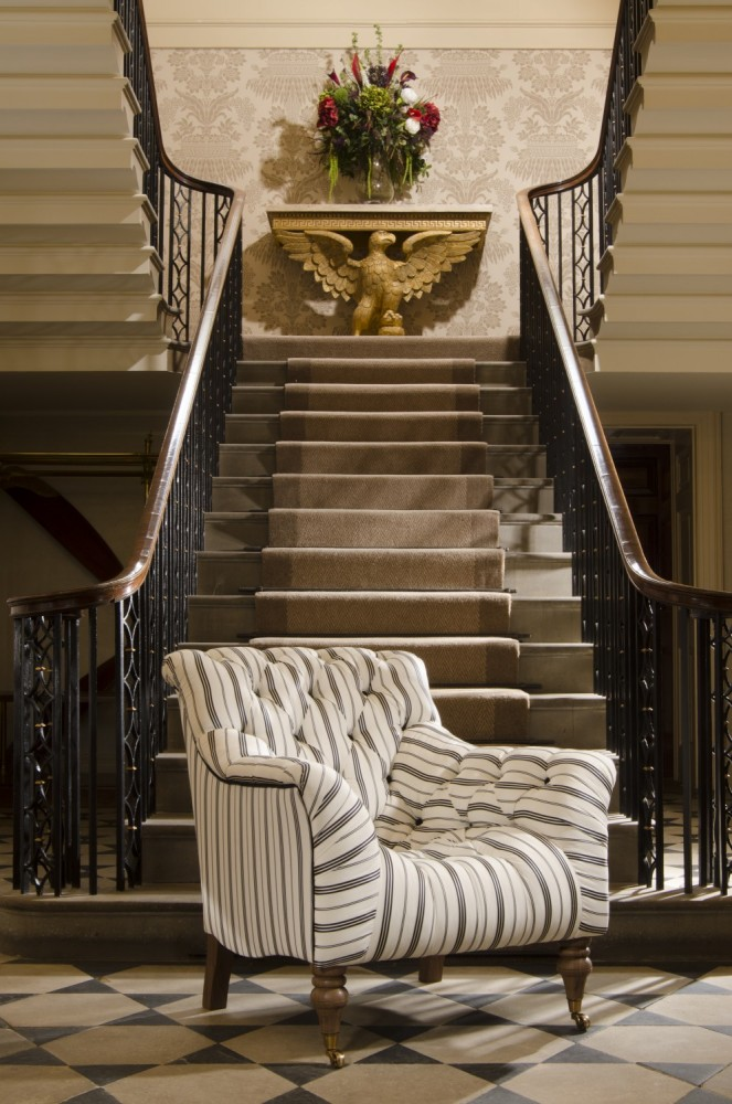 New Collection Tetrad, Upholstered In Signature Ralph Lauren Fabric