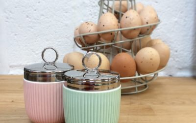 Coddling Eggs and Egg Coddlers