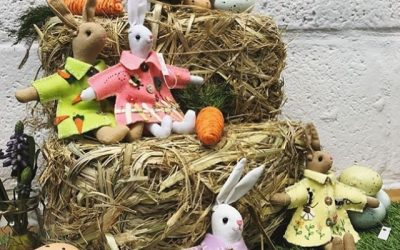 New spring ranges and Easter bunnies